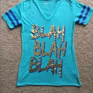 City streets blah blah blah shirt small